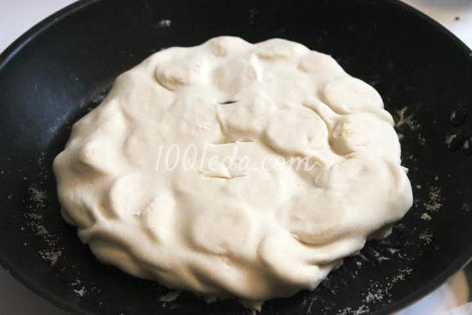 Бананово-ванильный пирог