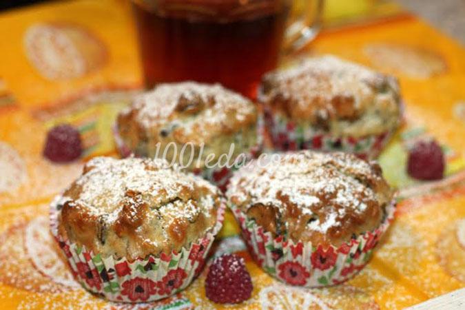 Энергетические маффины Победа с орехами и сухофруктами к чаю