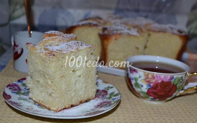 Большой пирог с творогом