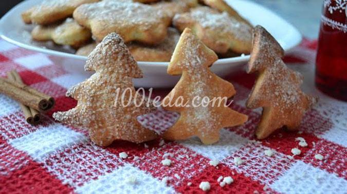 Печенье из творога по старому рецепту