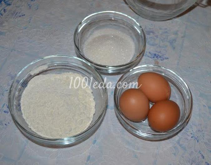 Рулет с масляным кремом и желе