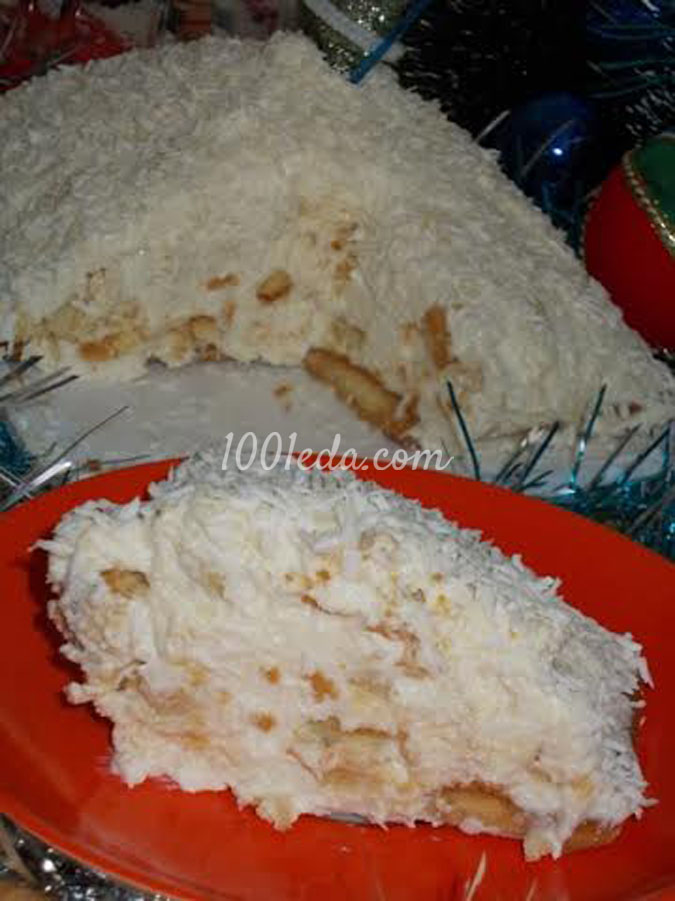 Творожный десерт Снежная горка