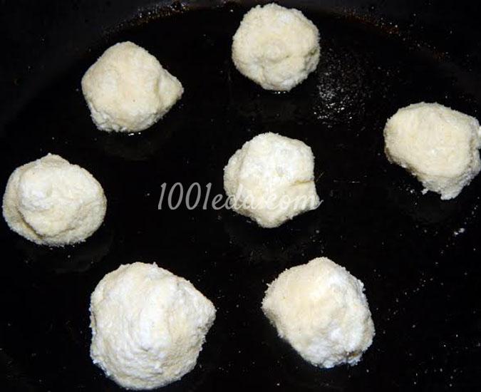 Десерт Снеговичок на горке