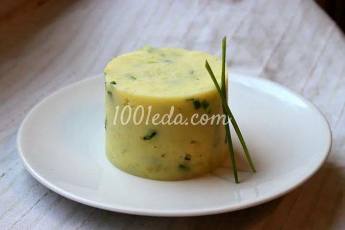 Картофельное пюре с кольраби и шнитт-луком