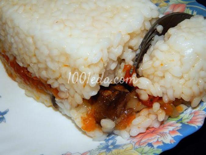 Рис с овощами На пути к новому году