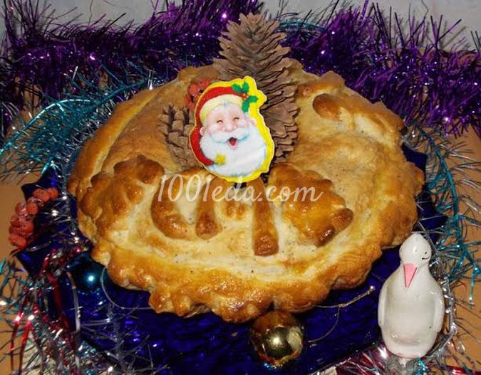 Домашней хлебушек с маком для Новогоднего стола