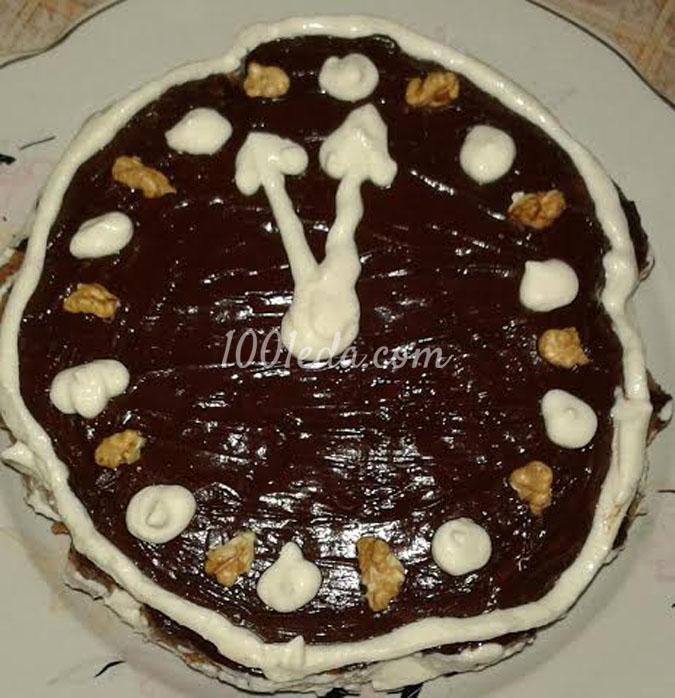 Торт Через час новый год