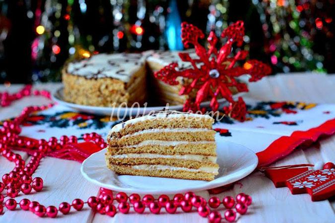 Медовик Мой Новогодний: рецепт с пошаговым фото