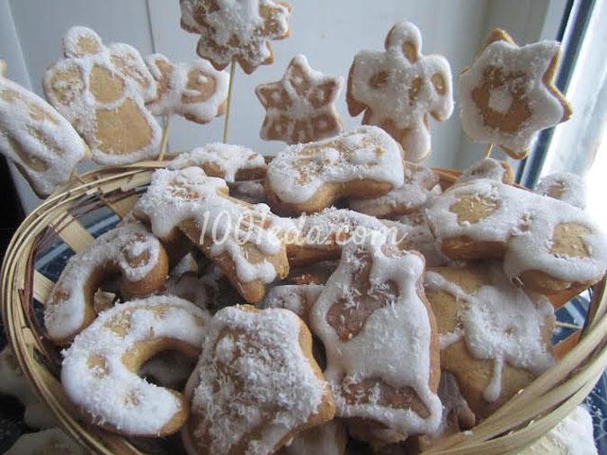 Рождественские прянички: рецепт с пошаговым фото