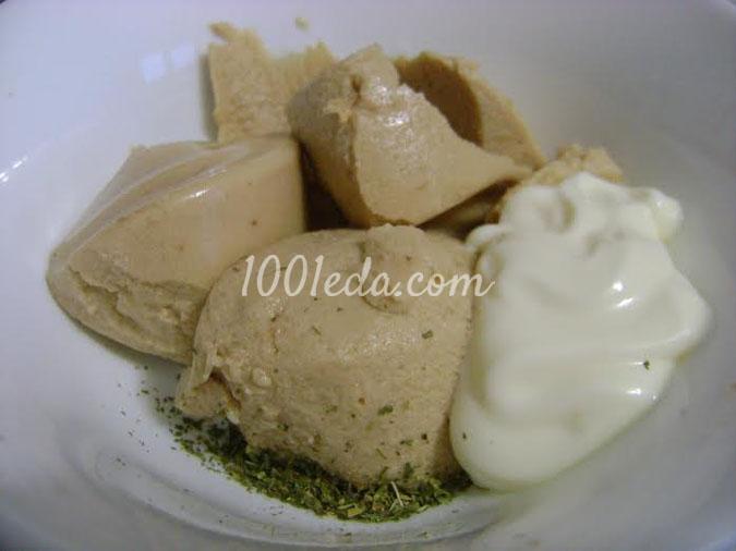 Яичные рулетики с печенью трески: рецепт с пошаговым фото