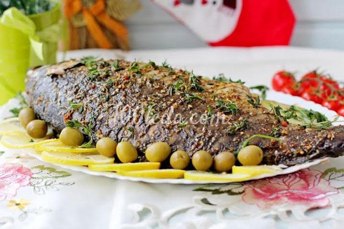 Запеченный карп с картофелем: рецепт с пошаговым фото