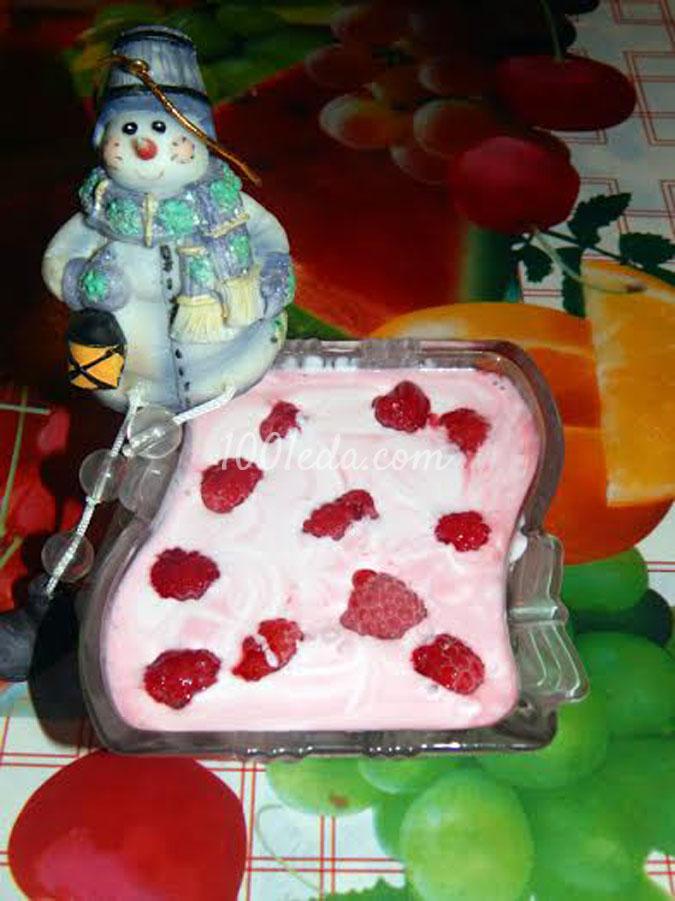 Десерт Снежная малинка