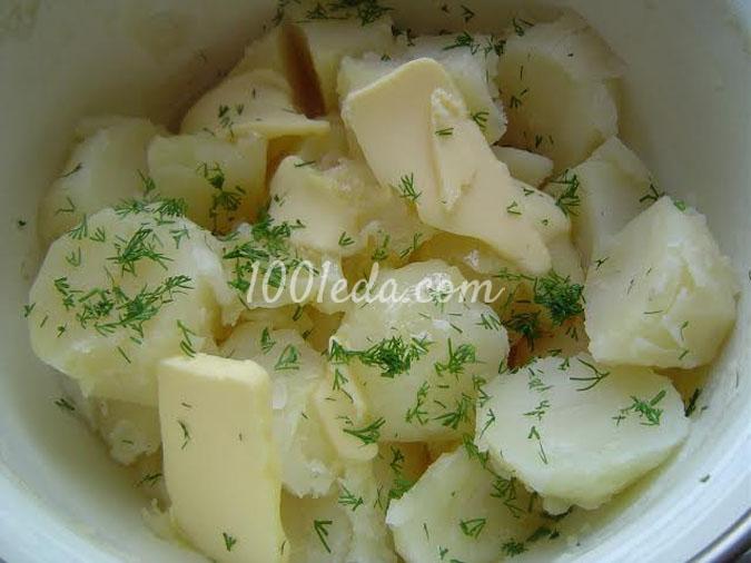 Картофельные пирожки Снежинки: рецепт с пошаговым фото