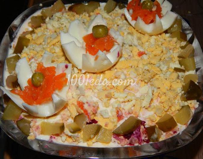 Классический салат Мимоза: рецепт с пошаговым фото