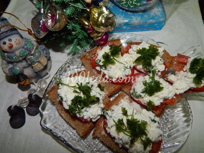 Творожная закуска с помидором: рецепт с пошаговым фото