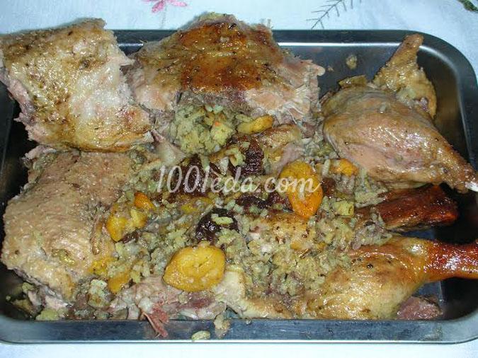 Утка, запеченная в медово-горчичном соусе: рецепт с пошаговым фото