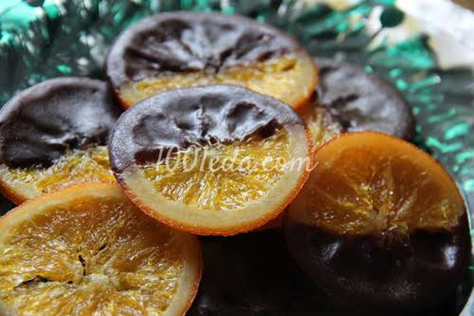 Апельсинки карамелизованные