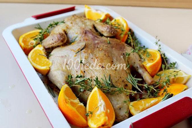 Утка с апельсинами: рецепт с пошаговым фото