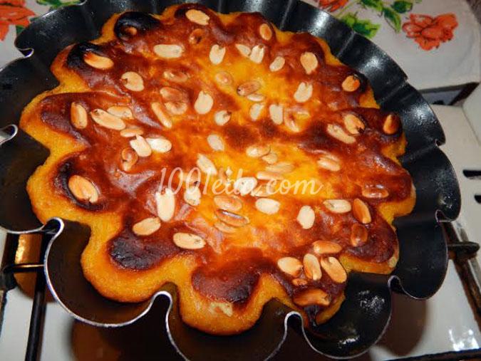 Рождественский тыквенный кекс с орехами