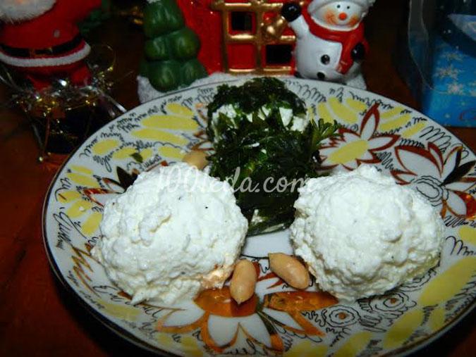 Закуска Зеленые снежки: рецепт с пошаговым фото