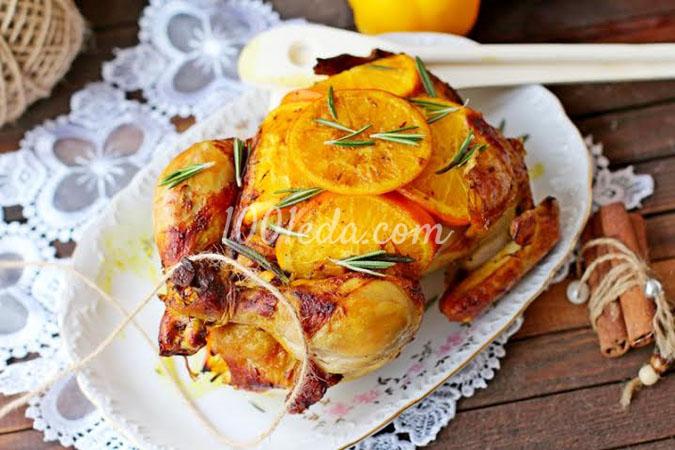 Курица с апельсинами: рецепт с пошаговым фото