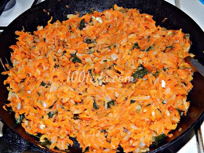 Печеночный торт с морковно-луковой начинкой: рецепт с пошаговым фото