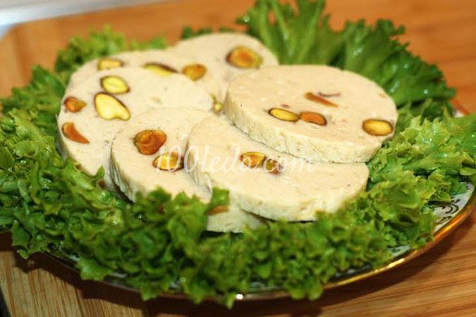 Домашняя куриная колбаса с фисташками: рецепт с пошаговым фото