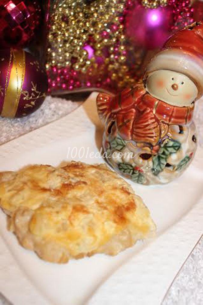 Горячее из курицы Новогодний сюрприз: рецепт с пошаговым фото