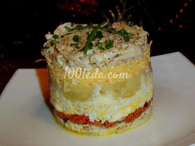 Салат Триумф: рецепт с пошаговым фото