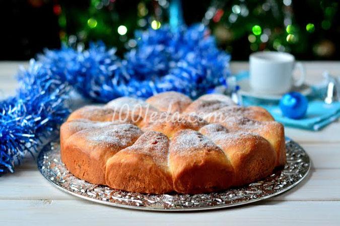 Пирог Снежинка: рецепт с пошаговым фото
