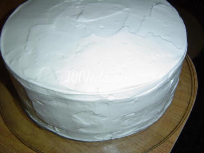 Торт Новогодние фантазии: рецепт с пошаговым фото