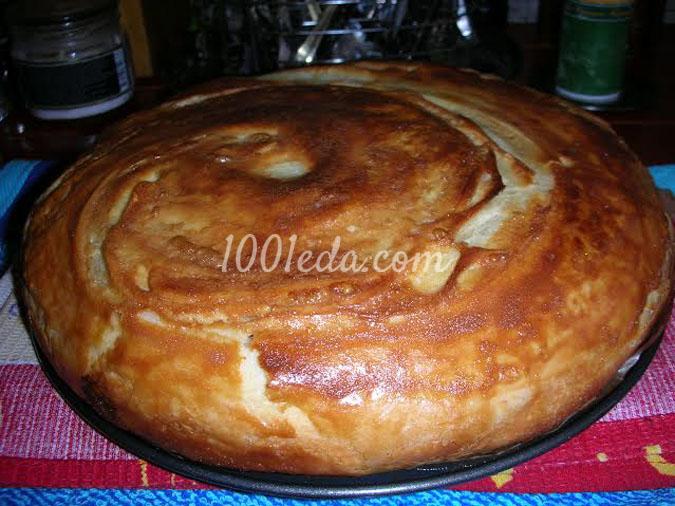 Египетский пирог Фытыр: рецепт с пошаговым фото