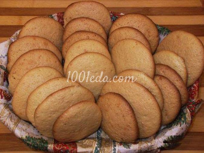 Мгновенное бисквитное печенье
