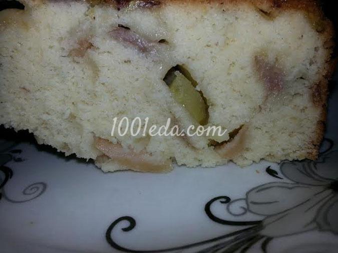 Шарлотка с киви и бананом в мультиварке: рецепт с пошаговым фото