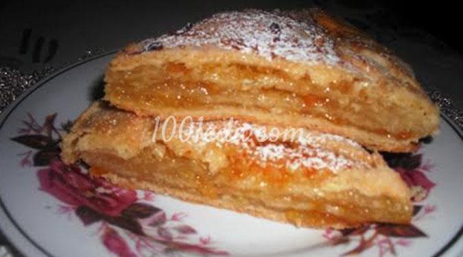 Пирог к чаю Оранжевый: рецепт с пошаговым фото