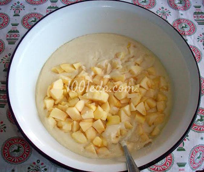 Манник с яблоками: рецепт с пошаговым фото