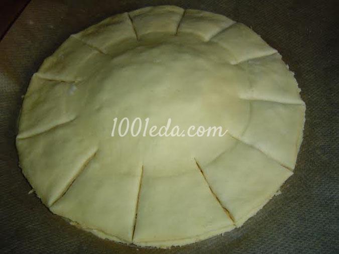Пирог Цветы для мужчин: рецепт с пошаговым фото
