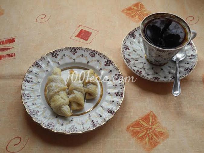 Круассаны со сгущенкой: рецепт с пошаговым фото