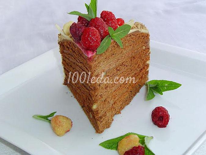 Торт шоколадный Для милых дам: рецепт с пошаговым фото