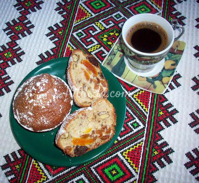 Кексы Мазурка с сухофруктами и орехами