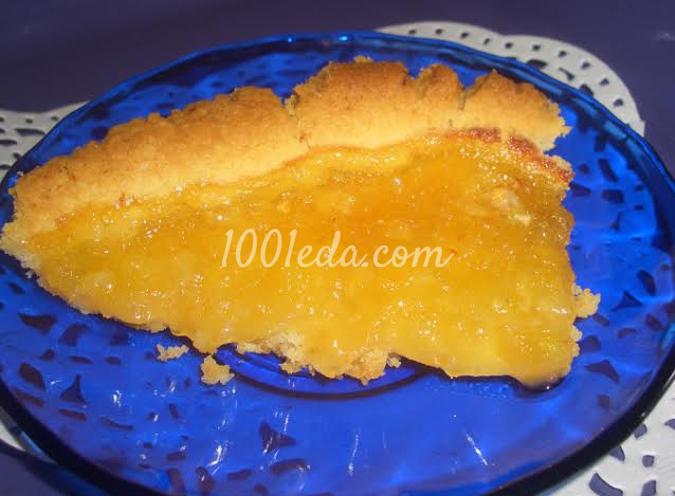 Пирог Лимонник: рецепт с пошаговым фото