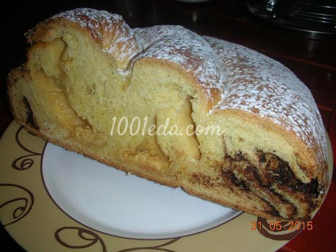 Пирог с шоколадом: рецепт с пошаговым фото