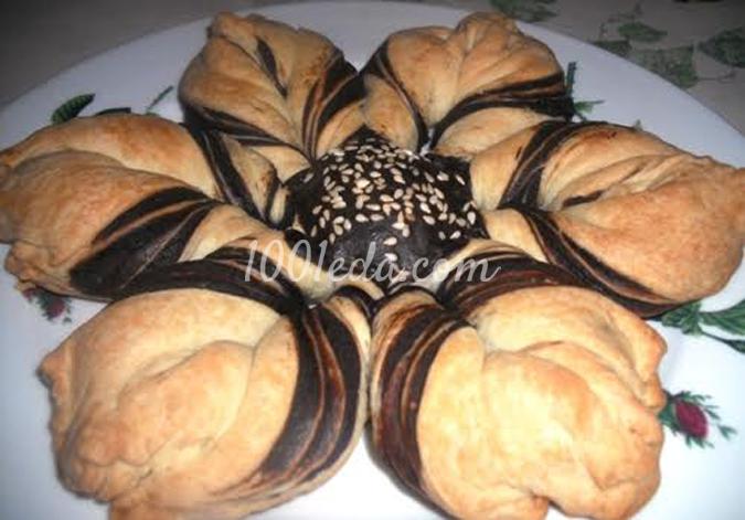 Пирог Ромашка: рецепт с пошаговым фото