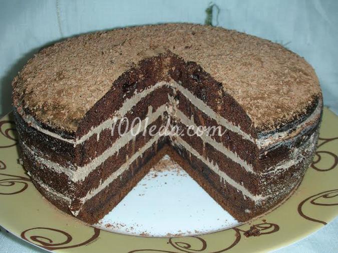 Шоколадный торт для мужа в мультиварке: рецепт с пошаговым фото