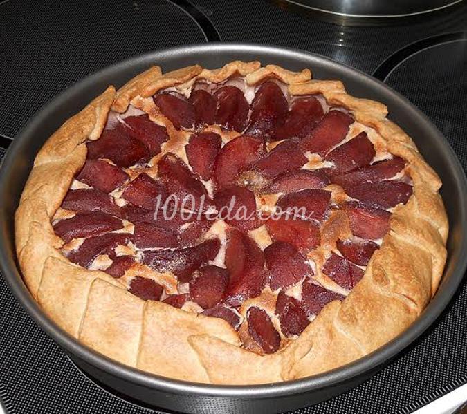 Пирог с винно-красными яблоками: рецепт с пошаговым фото