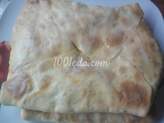 Плацинда с тыквой: рецепт с пошаговым фото