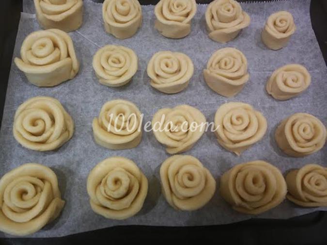 Печенье Розы для любимых: рецепт с пошаговым фото