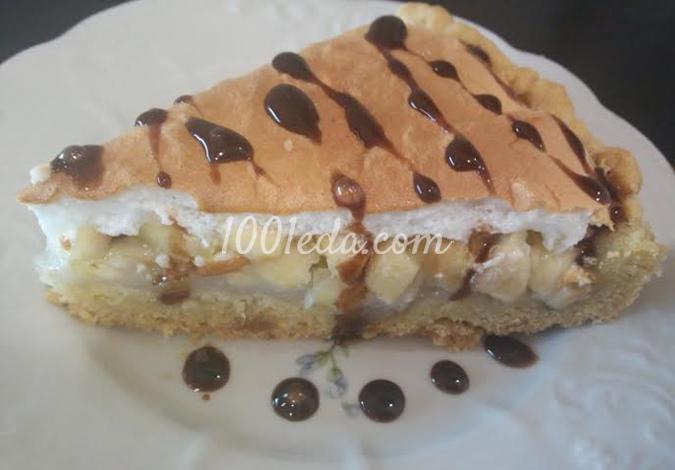 Яблочный тарт с белковым суфле: рецепт с пошаговым фото
