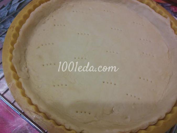 Творожный тарт с вишневой начинкой: рецепт с пошаговым фото