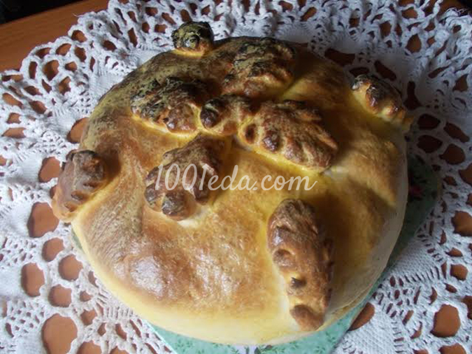 Домашний хлебушек на сывортке